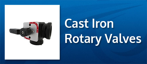 cast iron rotary valves UK and Ireland